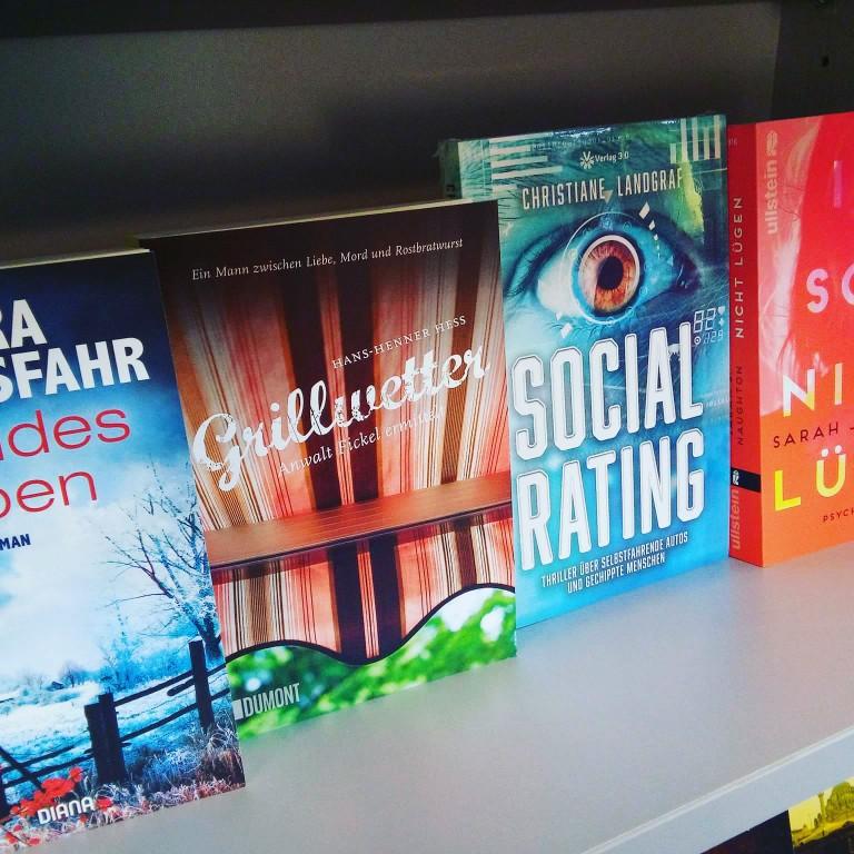 Social Rating in der Buchhandlung Herr