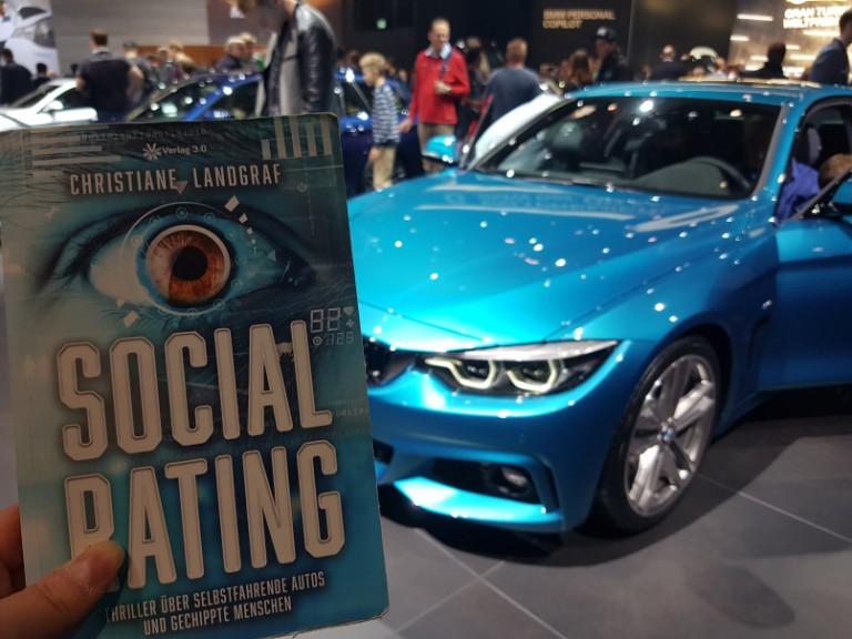Auto zum Buch gefunden auf der IAA 2017