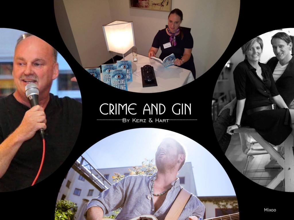 Crime & Gin bei Kerz & Hart Friseure