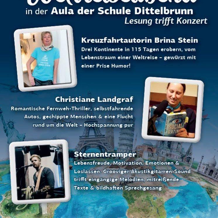 Weltreiseabend - Lesung trifft Konzert
