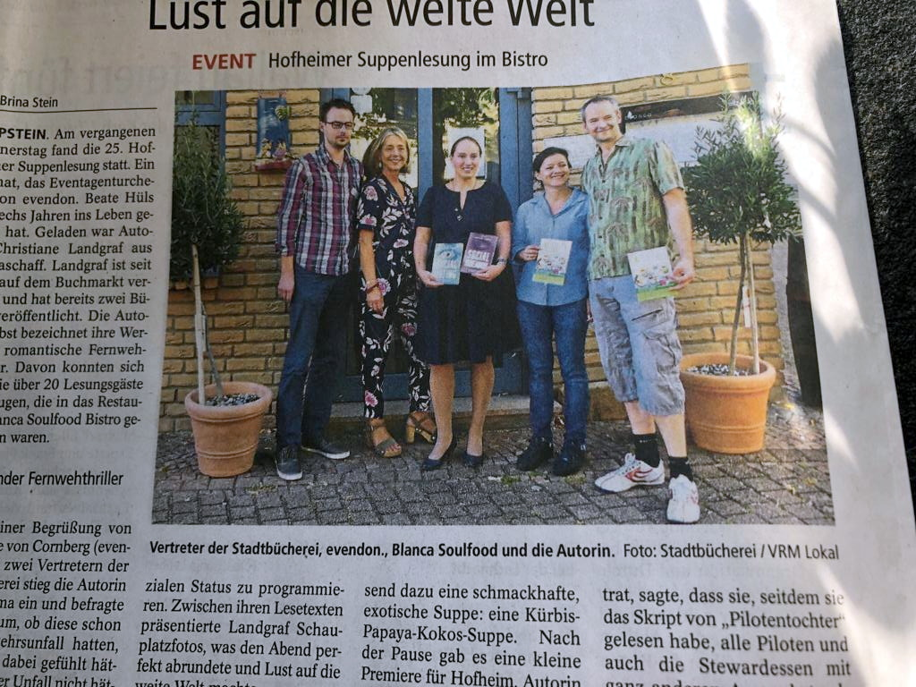 Hofheimer Suppenlesung 2019